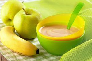 Obst- und Gemüsebrei einfrieren