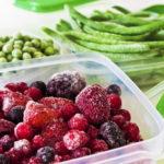 Gefrierbehäter für Obst und Gemüse