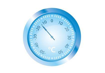 Gefriertemperatur