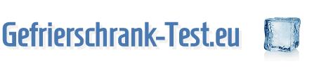 Gefrierschrank Test