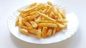 Haltbarkeit von Pommes Frites